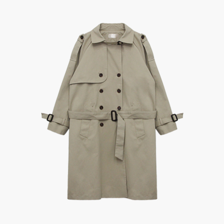 afternoon trench coat