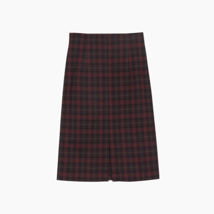stealer check skirt