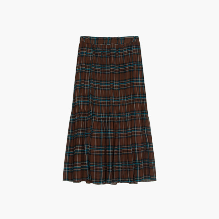 danish check skirt