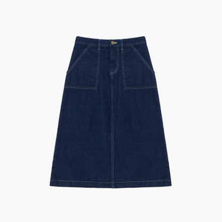 mimi denim skirt