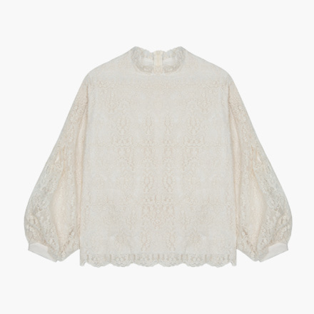 pudding lace blouse