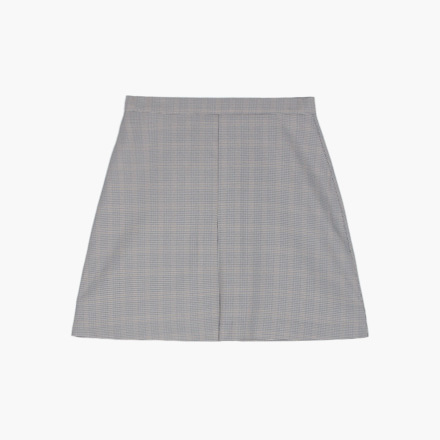 russia check skirt