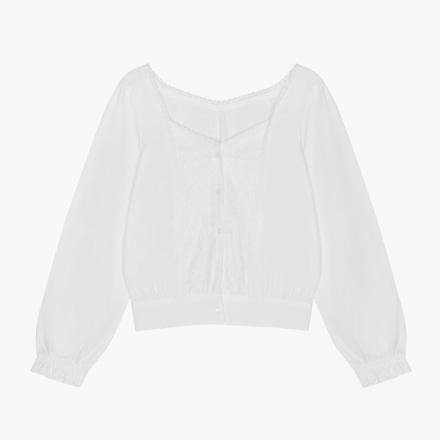 queen lace blouse