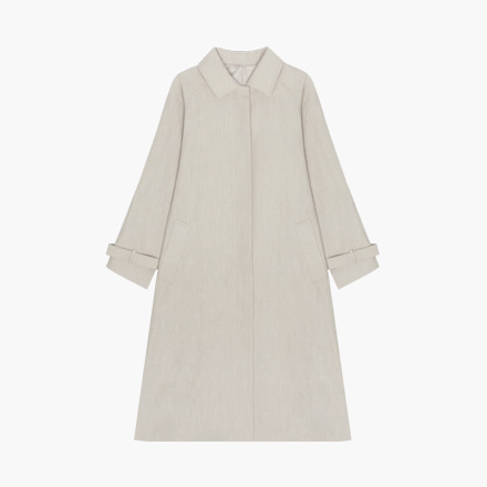 breath linen coat